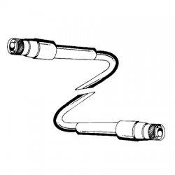 CommScope - L4A-DMDM-10-P - ANDREW 10' LDF4-50 Jumper, DIN Male/DIN Male