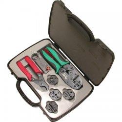 Eclipse Tools - 500-001 - Coaxial Crimp Kit, 8 piece, 5 DIEs