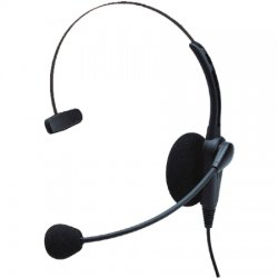 Klein Electronics - VOYAGER-K1 - Klein Voyager-K1 Monaural Headset - Wired Connectivity - Mono - Over-the-head