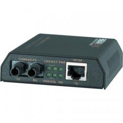 Signamax / AESP - 065-1100 - 10/100 Ethernet to ST MM Fiber Media Converter