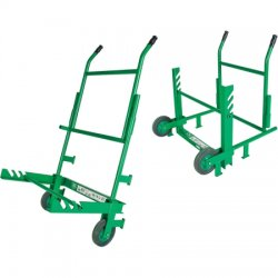 Greenlee / Textron - 916 - Cable Reel Transporter 916, Folding handle