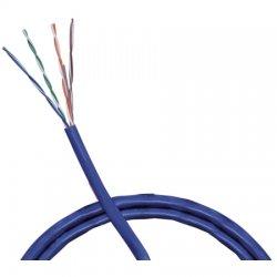 Belden / CDT - 1583A006U1000 - Belden Cat.5e Bulk Cable - Bare Wire - Bare Wire - 1000ft - Light Blue