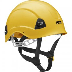 Petzl - A10BYA - Yellow Rescue Helmet, Shell Material: ABS, 6-Point Webbing Suspension, Fits Hat Size: 6-3/8 to 7-7/8