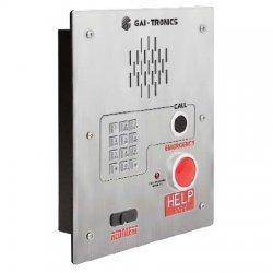 GAI-Tronics - 398-802 - Red Alert VoIP 2 Button Flush Mount Telephone KP