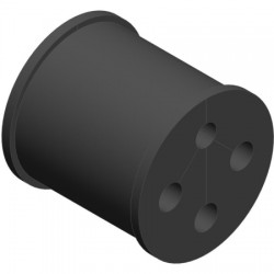 Ventev - WSBC-08510953 - Barrel Cushion .334 Fiber(1)/.370 Power Cables(3)