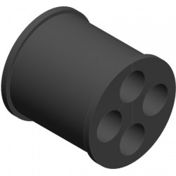 Ventev - WSBC-124 - 1/2 Barrel Cushion (4 Holes)