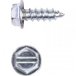 "Wireless Solutions - 8N50ASWSZ/B2.5C - Hex washer head TEK screw #8x1/2"" Zinc/250 pack"