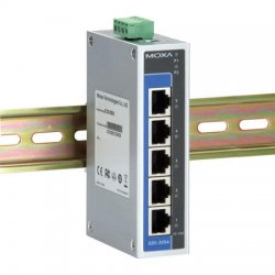 Moxa Group - EDS-205A - EDS-200A - Rugged 5x10/100BaseT(X) Port Unmanaged Switch