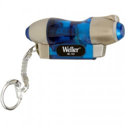 Weller / Cooper Tools - ML100 - Microtorch; Spring Loaded Cap, Electronic Ignitor w/Piezo Ignition, LED Work Light, Adjustable Flame