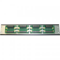 DuraComm - DBRM-10-75 - DBRM Series Power Distribution Panel, 10 positions, 75A max per panel, 20A max per fuse