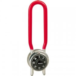 "Master Lock - 1517D - Combination Padlock Center-Dial Location, 4-1/4"" to 4-3/4"" Shackle Height"