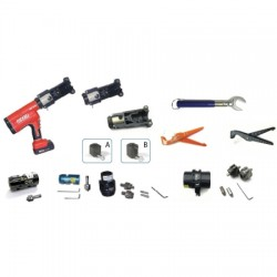 JMA - KIT-CC-FULL - Tool Kit for 1/2', 7/8', 1-5/8' CC connectors