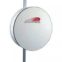 Radio Waves - HP4-23EX - 4' (1.2m) High Performance Dish Antenna, 21.2-23.6GHz, Direct-Fit to Exalt ExtendAir/ ExploreAir ODU, SOI
