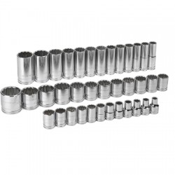 "GearWrench - 80730 - 1/2"" Drive 12 Pt. Metric Master Set"