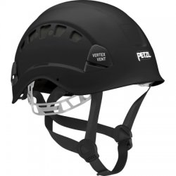 Petzl - A10VNA - Black Rescue Helmet, Shell Material: ABS, 6-Point Mesh Liner Suspension, Fits Hat Size: 6-3/8 to 7-7