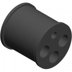 Ventev - WSBC-08511473 - Barrel Cushion .334 Fiber(1)/.580 Power Cables(3)