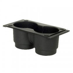 Gamber-Johnson - MCS-INTCUP - Gamber-Johnson MCS-INTCUP Double Internal Cupholder - 3.4 x 8.6 x 4.5 - Steel - Black