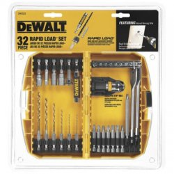Dewalt - DW2522 - 32-Piece Rapid Load Holder and Bit Set, 1/4 Hex Shank Size