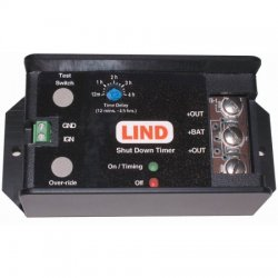 Lind Electronics - SDT1230-022 - Protective Battery Timer Designed To Eliminate Battery Failure Due To Leaving At