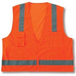 Ergodyne - 24013 - Glowear 8249z Cls 2 Econsurveyors Vest S/m Or