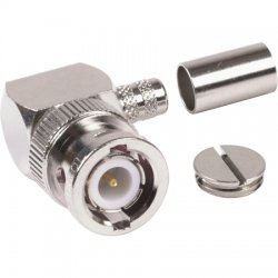 Amphenol - 031-6005-RFX - BNC Male Right Angle RG-8X, LMR-240