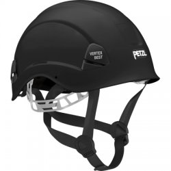 Petzl - A10BNA - Black Rescue Helmet, Shell Material: ABS, 6-Point Webbing Suspension, Fits Hat Size: 6-3/8 to 7-7/8