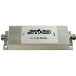 STI-CO Industries - FILT-NB-160-MIL-N - 160-163 MHz Rugged Preselector Filter
