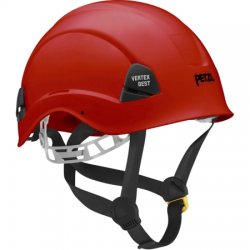Petzl - A10BRA - Red Rescue Helmet, Shell Material: ABS, 6-Point Webbing Suspension, Fits Hat Size: 6-3/8 to 7-7/8