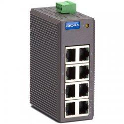 Moxa Group - EDS-208 - EDS-200 - Entry-Level 8x10/100BaseT(X) Port Unmanaged Switch