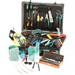 Eclipse Tools - 902-242 - Deluxe Telecom Kit, 74 piece