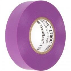 3M - 051128-53273 - TEMFLEX 1700 VIOLET - Electrical Tape VIOLET 3/4x 66'/1 roll