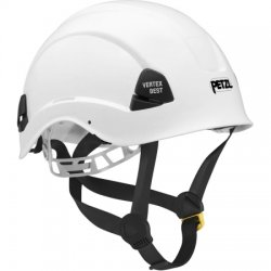 Petzl - A10BWA - White Rescue Helmet, Shell Material: Polycarbonate, 4pt. Ratchet Suspension, Fits Hat Size: 6-3/4 to