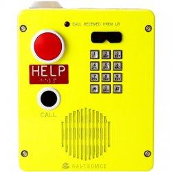 GAI-Tronics - 394AL-802 - Red Alert VoIP Aluminum KP Surface Mount Telephone