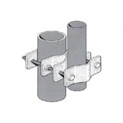 Sinclair - CLAMP005(E5856) - Dual Clamp Kit, Pipe to Parallel Pipe