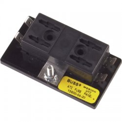 Cooper Bussmann - 15600-04-20 - 4-Pole Automotive Fuse Block, AC: Not Rated, DC: 32VDC, 0 to 30A, Series ATC