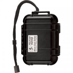 Pelican - 1050 BLACK - Pelican 1050 Micro Case - Clamshell - Polycarbonate - Black
