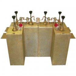 Comprod Communications - 66-40-46 - 406-512MHz Pass/Reject Six 4 Cavity Duplexer
