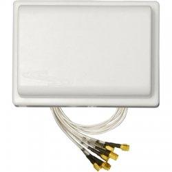 Ventev - M6025040MO1D2420M - TerraWave M6025040MO1D2420M 802.11n Omni-directional Antenna - 4 dBi, 5 dBi - 6 x RP-SMA