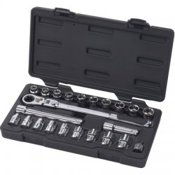 "GearWrench - 893823 - GearRatchet Set, 3/8"" drive, 23piece, SAE/Metric"