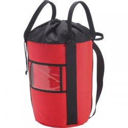 Petzl - R41 R - Rope bag, Red, holds 200' of 1/2 rope