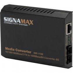 Signamax / AESP - 065-1196A - 10/100/1000TX to 100FX SC MM Media Converter