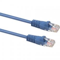 Signamax / AESP - C5E-114BU-07FB - Signamax C5E-114BU-07FB Patch Cord 4 Pair / 24 AWG CM CAT5e RJ45 Blue 7'