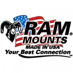 Ram Mounting Systems - Ram-vp-sw1-47 - Ram Double Swing Arm 4 Male 7 Female Tube