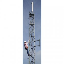 Trylon - 5.94.1200.050 - Knocked-down 50' S1200 SuperTITAN Self-Supporting Tower (Sections 12HD-16) c/w Base Feet and Tie-rods