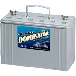 Deka - 8G31 - 12VDC Dominator Marine 108 Amp Hr Battery