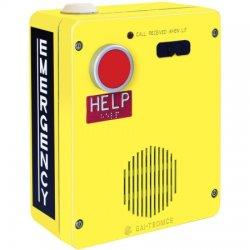 GAI-Tronics - 393AL-800 - Red Alert VoIP Aluminum Surface Mount Telephone