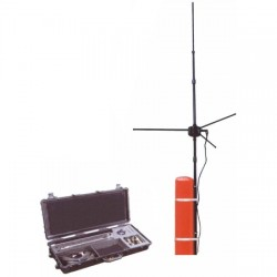 STI-CO Industries - FPAK-1-VHF-STM - Field Portable Antenna Kit, VHF