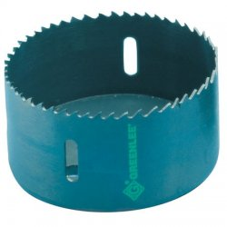 Greenlee / Textron - 825-3/4 - 3/4-Dia. Hole Saw for Metal, 1-5/8 Max. Cutting Depth, 4/6 Teeth per Inch