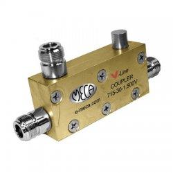 MECA Electronics - 715-30-1.500V - 800-2200 MHz 30dB Directional Coupler