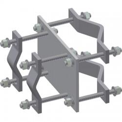 Ventev - CO200X - Crossover Clamp (2 to 5)